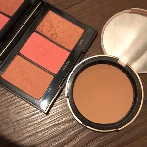 Too Faced Bronzer &  Morphe Pop of Blush Palette